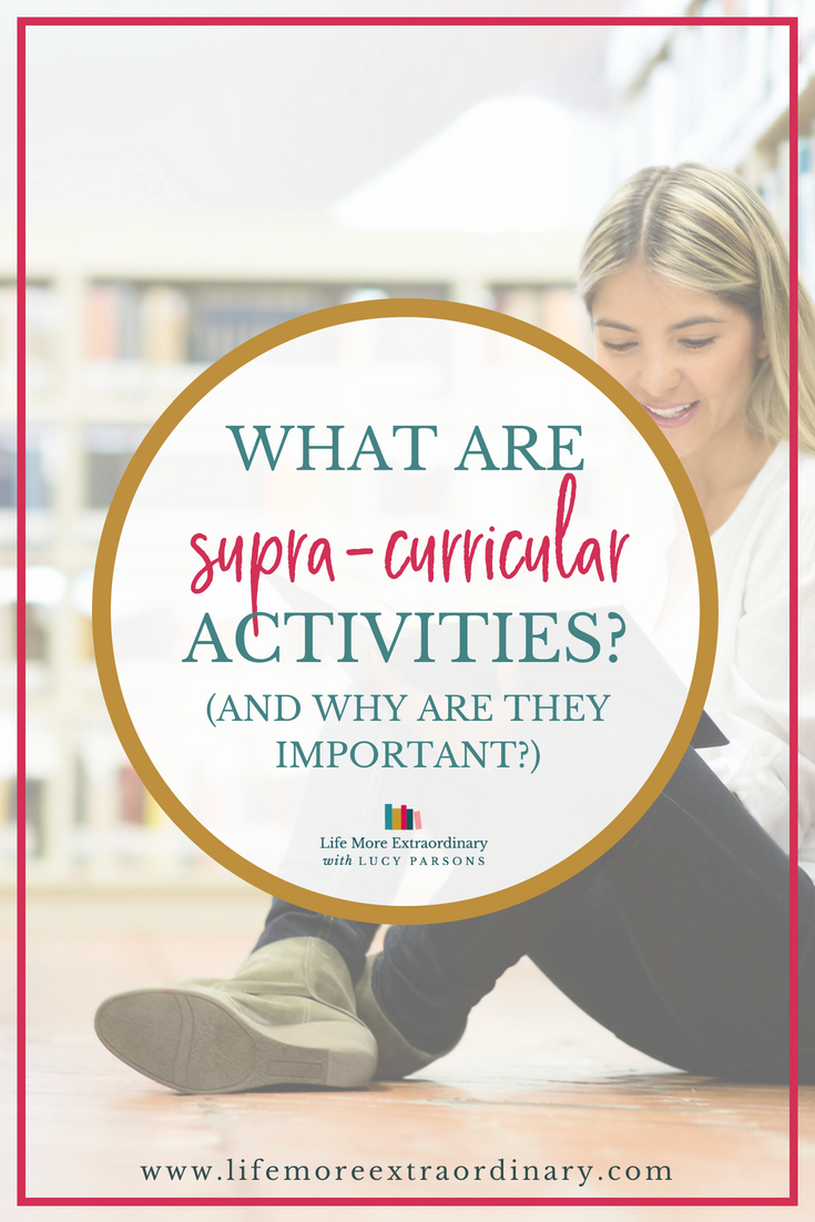 What are supra-curricular activities? | Heard of extra-curricular activities, but baffled by supra-curricular activities. Click to find out what they are and why they're essential for succeeding in your education. #extracurricular #supracurricular #ucas