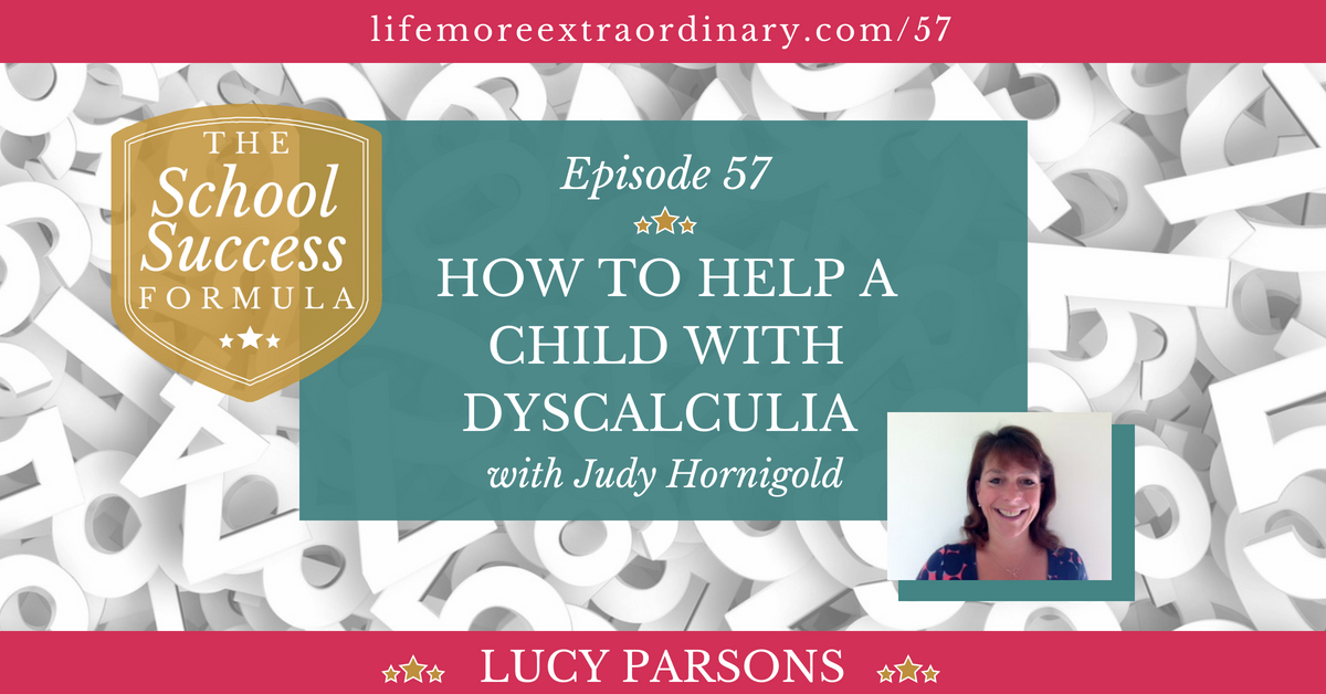 how to help a child with dyscalculia