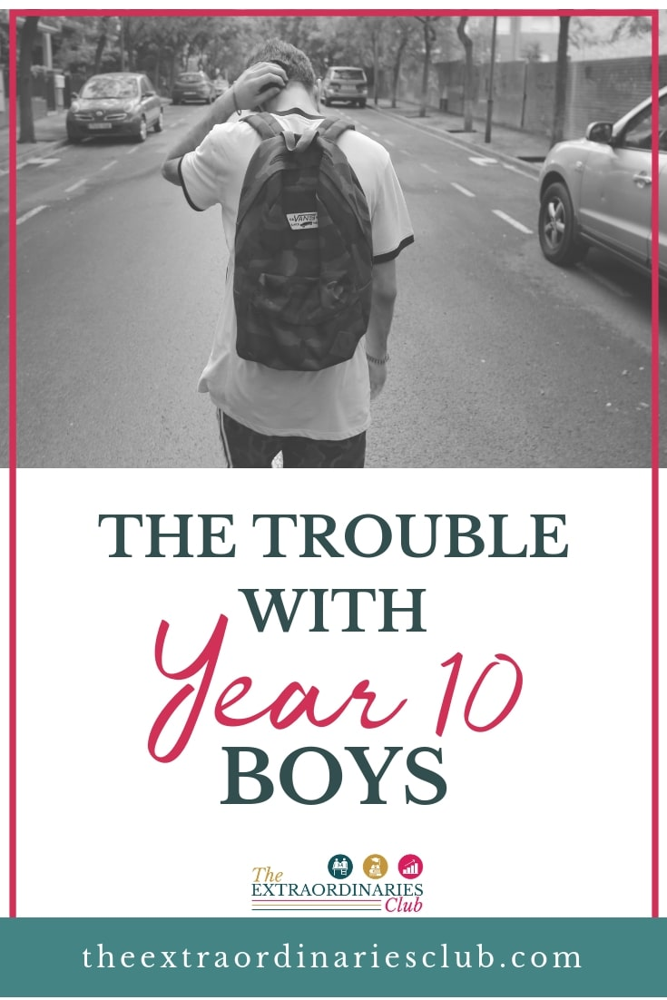 Many of the parents that come to me for help are the parents of boys who are in Year 10. They are panicking when their boys reach the end of Year 10 and are starting Year 11, and are getting disappointing results in their end of year exams. There are a few reasons why this tends to happen, particularly with boys in Year 10 - find out the solution here. #teenageboys #studyskills