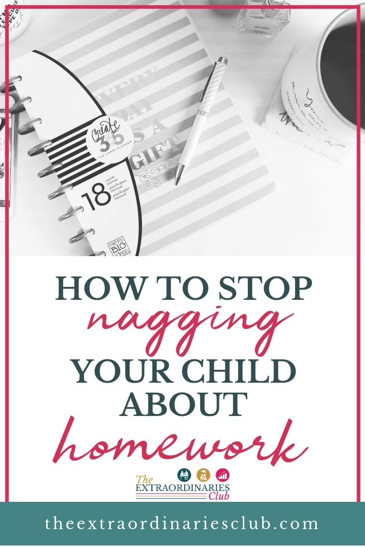 Do you find yourself constantly nagging your child about homework and revision? Do you know why you nag? It's because you genuinely care about their academic success. However, nagging doesn't always work, so here's how to stop nagging, and start working together instead! #academiccoaching #studyskills #parenting