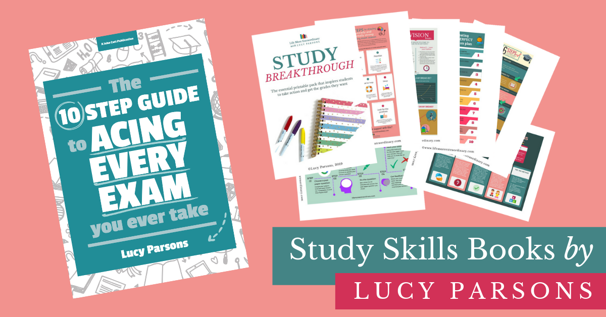 How to revise for exams - Study Skills Books by Lucy Parsons