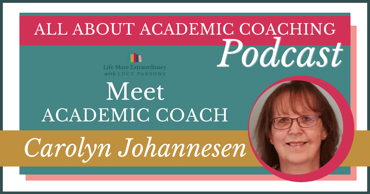 Get to know academic coach Carolyn Johannesen
