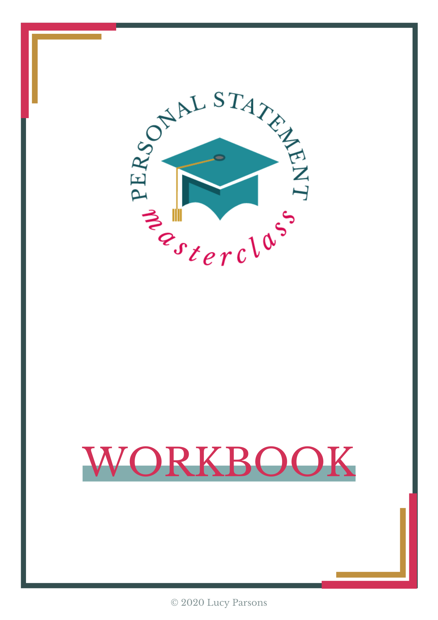 Personal Statement Masterclass workbook